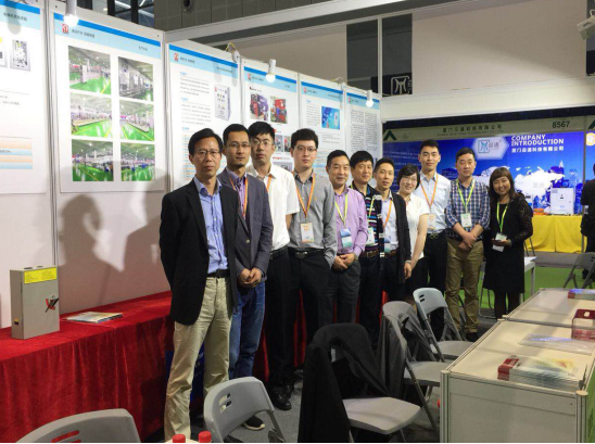 The general lubricant switch participated in the 2018 China International Elevator Exhibition